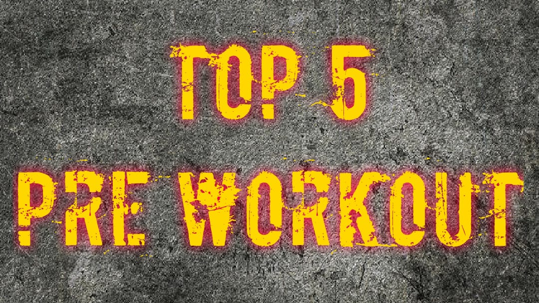 Top 5 stim pre-workout 2019/2020