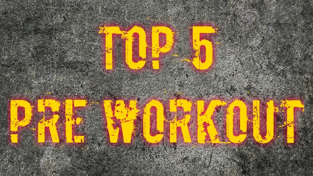 Top 5 stim pre-workout 2019/2020