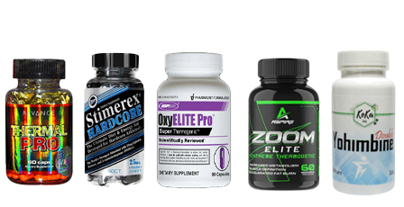 Supplements for reduction. Faster fat loss