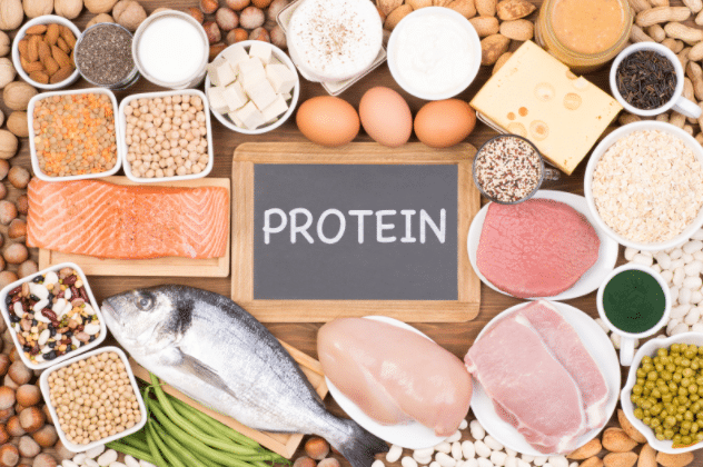 Ten foods rich in protein